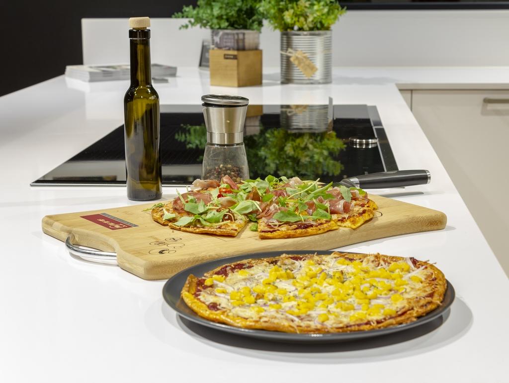 Receta del mes de Santos Vaguada: Pizza Keto