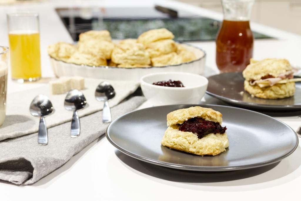 Biscuits para el desayuno