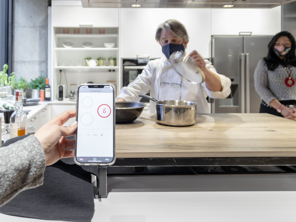 Cooking Surface app